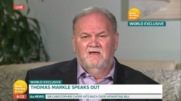 Meghan Markle's father to launch clothing line, claims sister