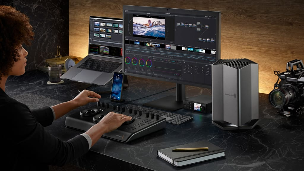 Blackmagic Transforms MacBooks Into Mobile Movie-Makers