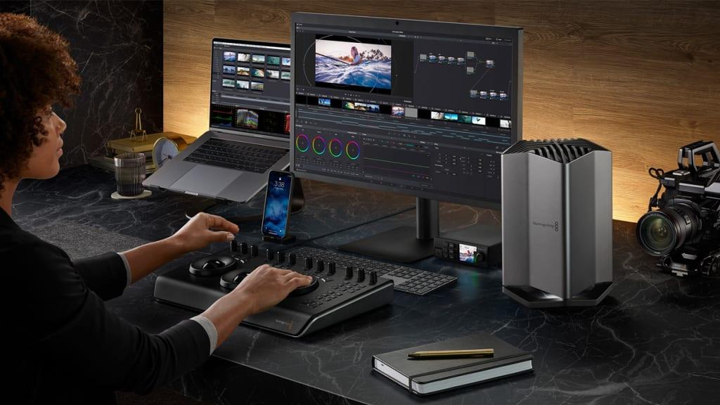 Blackmagic Transforms MacBooks Into Mobile Movie-Makers