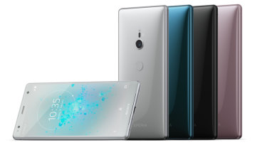 In-keeping with tradition you'll only find the black Xperia XZ2 in retail stores, but Sony will sell you pink, green or silver versions as well.