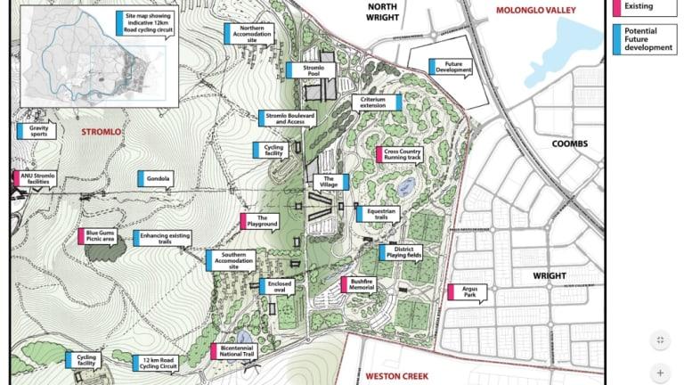 The Mt Stromlo master plan.