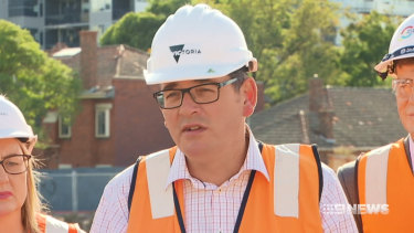 Victorian Premier Daniel Andrews is refusing to build the East West Link.
