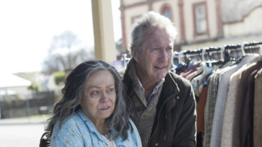 Jacki Weaver as Gwen Reed and Bryan Brown as Ray Reed.
