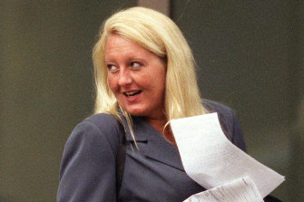 Nicola Gobbo outside the Supreme Court in 2004.