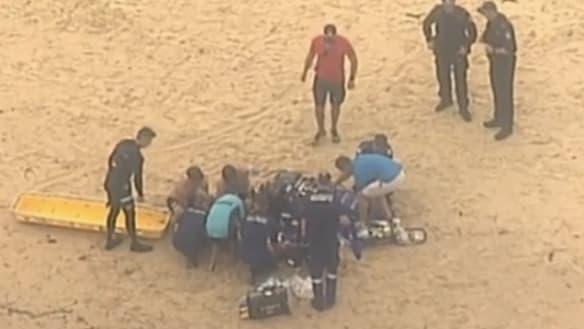 Man dies after being found face down in water at Bondi