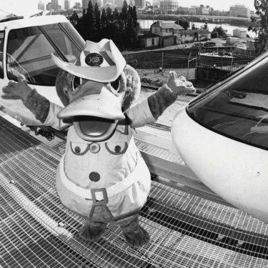 World Expo 88's mascot, Expo Oz.