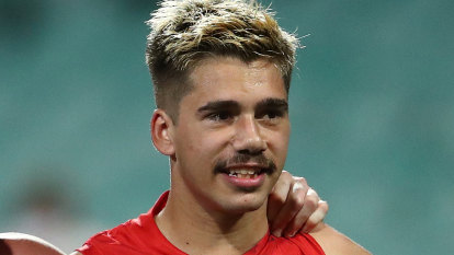 Swans youngster Elijah Taylor charged with aggravated assault