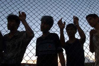 The controversial Nauru detention centre.