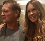 Elle Macpherson and Andrew Wakefield.