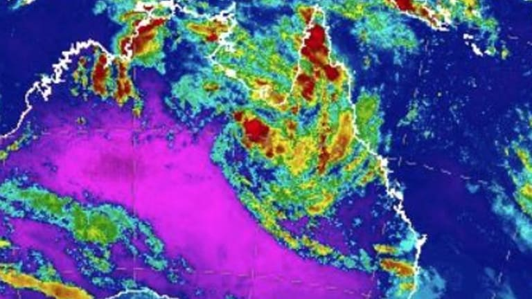 A low-pressure system hanging over Queensland could lead to torrential rain in parts of the state.