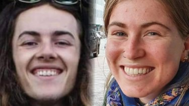 Dion Reynolds, left, and Jessica O'Connor, entered Kahurangi National Park in New Zealand on May 9. They were found alive after 19 days missing in the bush.