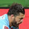 Waratahs keep finals hopes alive after holding out Rebels