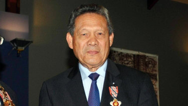 Former Cook Islands PM Dr Joe Williams was admitted to hospital with Covid-19 in August and died on Sep 14.