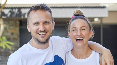Chef Nutrition founders Justin and Libby Babet.