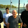 Fisherman praises 'godsend' rescuers after falling overboard