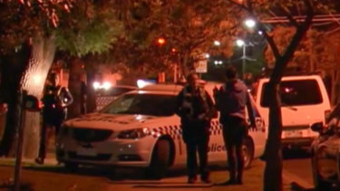 Police searching for a man who assaulted a woman in a park in Thornbury.