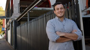 James Sneddon is looking to grow Stigma Health but says social media platforms aren't receptive to his advertising.