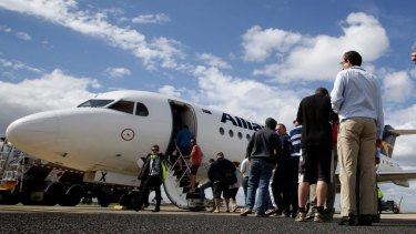 Alliance Airlines says it could fill the void left by Virgin Australia.