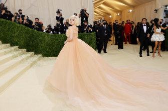The Princess Diaries: Billie Eilish in Oscar de la Renta at The Met Gala.