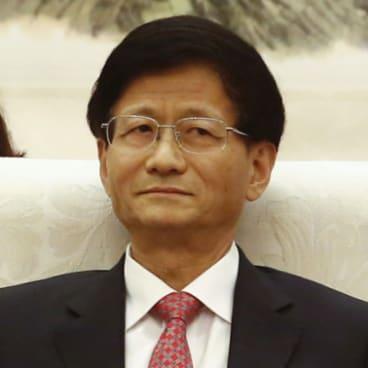 Meng Jianzhu in 2016.