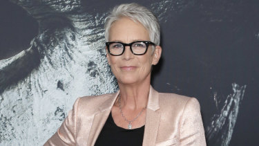 Jamie Lee Curtis at the Halloween premiere at Event Cinemas in Sydney on Tuesday.