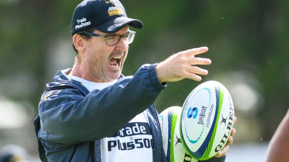 Brumbies rookie coach McKellar gets tick of approval from Cheika