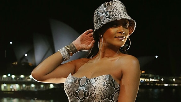 Social Seen: Rihanna celebrates one year of Fenty Beauty in Sydney