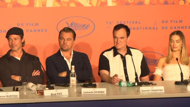 Quentin Tarantino wasn't happy with a question he was asked at the Cannes Film Festival.