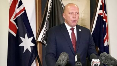 Home Affairs Minister Peter Dutton said Bourke Street attacker Hassan Khalif Shire Ali was not connected to ISIL or any other terror group.