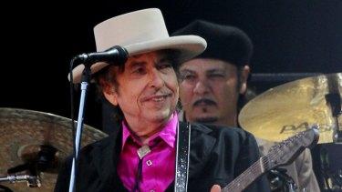 Bob Dylan in 2010