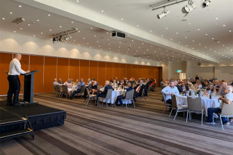 The One Nation fundraiser at Crowne Plaza Hunter Valley.