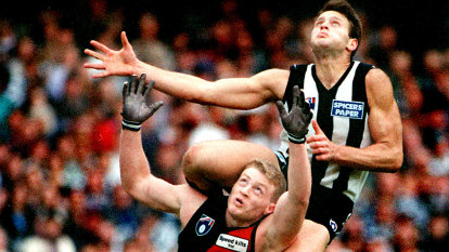 Anzac Day 1995: How Brereton helped Rocca tame the big bad wolf