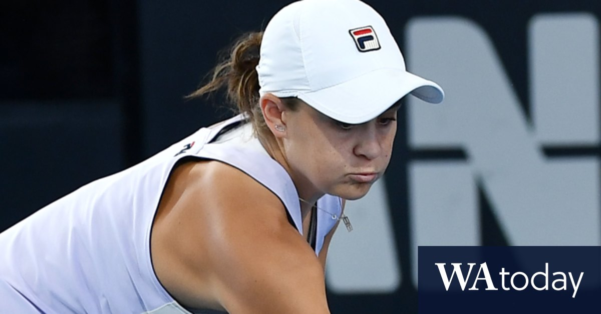 Barty crashes out of Adelaide International