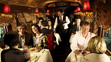 The iconic Melbourne restaurant tram service has temporarily ground to a halt.