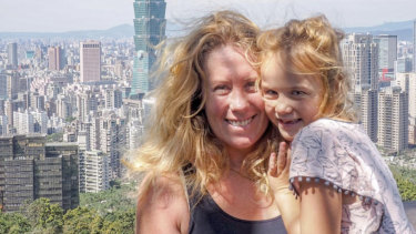 Single mum Evie Farrell and daughter Emmie were well travelled, but Evie was unhappy that the demands of her job limited the amount of time she was able to spend with her child.