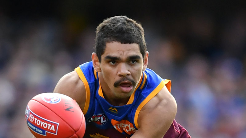 `He's in All-Australian form': Milestone game for quicksilver Lion