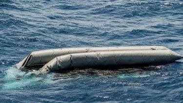 Rescue boats found the wreck but no survivors.