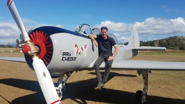 Marcel van Hattem and his Yak-52 disappeared on Tuesday. Wreckage was found near Stradbroke Island on Wednesday.