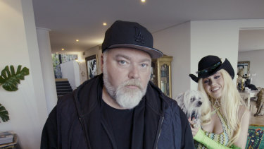 Kyle Sandilands and Imogen Anthony have just moved house.