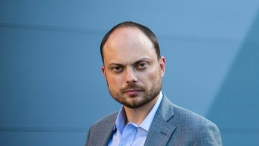 Vladimir Kara-Murza, a leader in the Russian opposition who believes he was the target of a Russian security service poisoning.