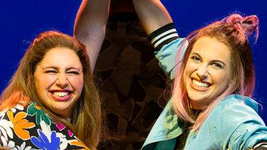 Natalie Abbott and Stefanie Jones make the perfect pairing.