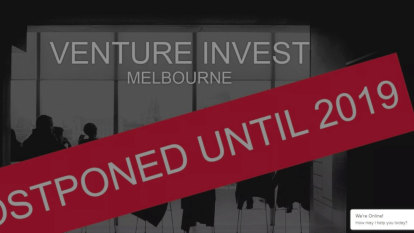 Venture Invest conference put on ice amid sea of startup events