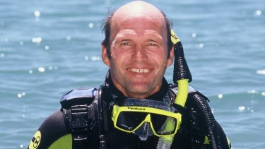 Tony Fontes has been diving on the Great Barrier Reef for 40 years.
