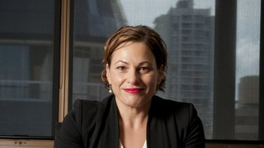 Queensland Deputy Premier Jackie Trad has been leading the mining rehabilitation bill.