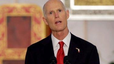 Florida governor Rick Scott.