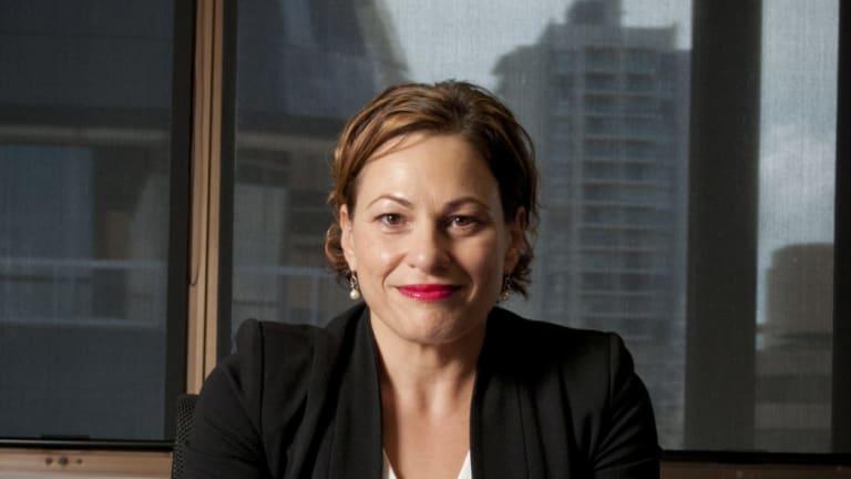 Queensland Deputy Premier Jackie Trad has been leading the mining rehabilitation bill.