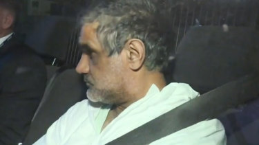 Truck driver Mohinder Singh.