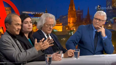 Panelists on Q&A debated whether Australia was the best democracy in the world.