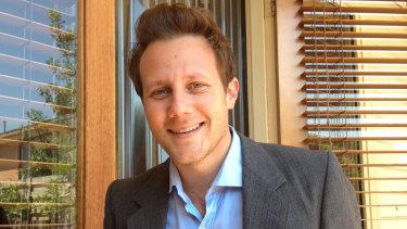 The author, Martin McKenzie-Murray.