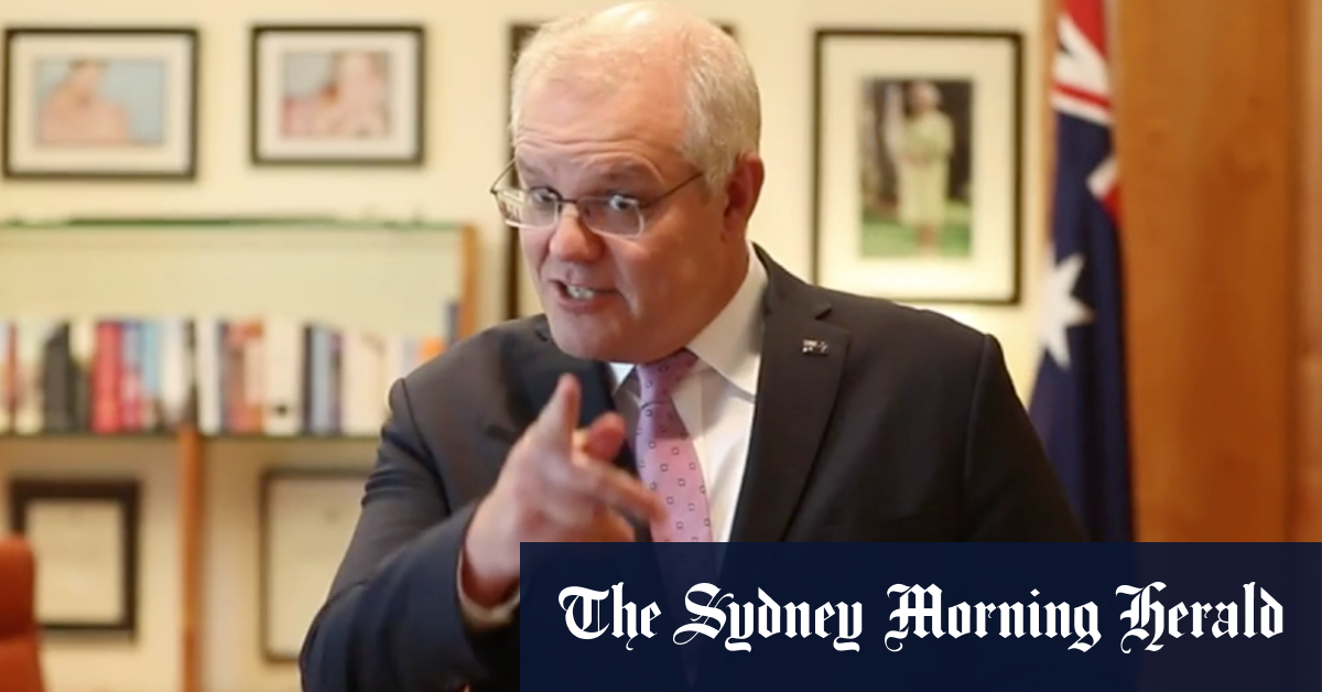 'No pressure mate just don't stuff it up': PM's video message to Rennie and Wallabies – Sydney Morning Herald